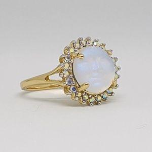 Kirks Folly Jewelry - Kirks Folly Baby Seaview Moon Face Ring Luminous